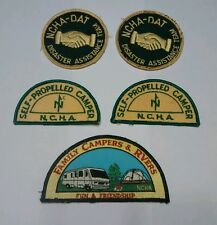 NCHA Camper Association Patches Patch Disaster Assistance DAT RVers Fun