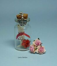I LOVE YOU MESSAGE IN A BOTTLE + CLIP ON CHARM