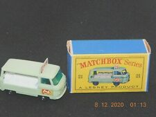 Vintage Mint in Box Lesney No.21 COMMER BOTTLE FLOAT MILK TRUCK