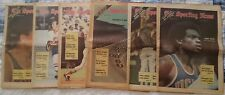 Six Full Issues Of The Sporting News From 1971 Joe Torre, Indy 500, Orioles