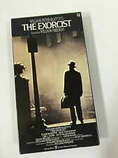 The Exorcist Vhs Horror Evil Movie Staring Linda Blair Ellen Burstyn Works Test