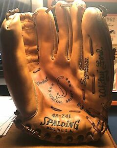 Vintage Whitey Ford Spalding Signature Model Glove Nr. Mint