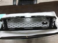 MIT GLOSSY BLACK FRONT GRILLE FOR RANGE ROVER L320 SPORT MODEL 2010-2013