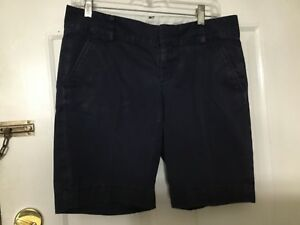 Lilly Pulitzer Women's Navy Blue Chipper Shorts, size 6