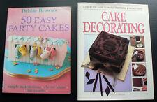 Debbie Brown 50 Easy Party Cakes Elaine MacGregor Cake Decorating birthday icing