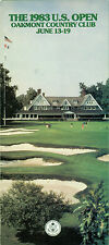 1983 US Open Golf Championship Official Ticket Application /Advertising Brochure