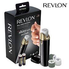 femmes compact REVLON manucure éclat Addict ongle micro-grain Tampon RVSP3525UKE