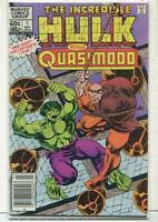 The Incredible Hulk Vs Quasimodo #1 NM One Shot Marvel Comics CBX14A