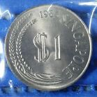 1983 Singapore $1 Stylised Lion Coin
