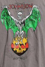 ZORLAC Skateboards Craig Johnson Pushead Grey Rare Vintage Large Surfing T-Shirt