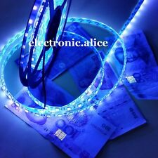 16.4ft 5M 5050 SMD 300 Leds Ultraviolet UV 395-405nm Flexible LED Strip IP65