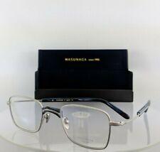 Brand New Authentic Masunaga Eyeglasses Gms - 107 #25 48Mm Silver Frame 107U