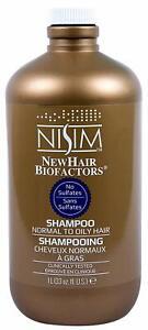 NISIM New Hair Biofactors Normal To Oily Shampoo 33Oz