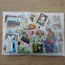 ******PROMOTION  100 TIMBRES MONDE DIFFERENTS OBLITERES  / STAMPS WORLD *****