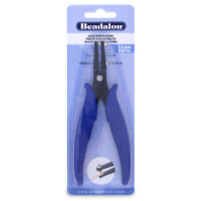Beadalon Hole Punch Pliers, 1.8mm Punch Holes in Flat Wire, Leather, Organza