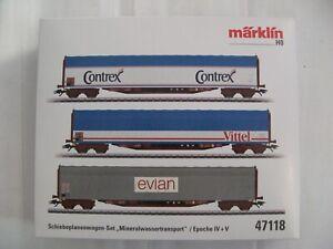 Marklin coffret wagon eau minérale