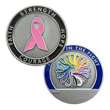 MotorDog69 Breast Cancer Challenge Coin