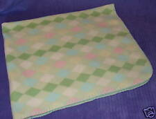 BLANKETS AND BEYOND BABY BLANKET PASTEL DIAMONDS ~ BS11