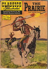 Classics Illustrated Comic Book #58 The Prairie, HRN 146 Edition #7 VERY GOOD-