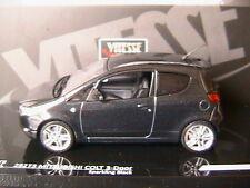 MITSUBISHI COLT 3 DOORS Z30 SPARKLING BLACK 2010 VITESSE 29273 1/43 TROIS PORTES