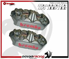 BREMBO M4 MONOBLOC RADIAL CALIPERS PAIR PADS INCLUDED