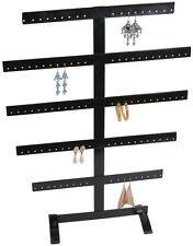 50 Pair Earrings Jewellery Display Rack Metal Stand Holder Storage Showcase Rack