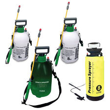 GARDEN PRESSURE SPRAYER KNAPSACK WEED KILLER CHEMICAL FENCE WATER SPRAY BOTTLE