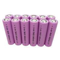 18650 High Drain 3400mAh INR Battery 3.7V Li-ion Rechargeable Batteries