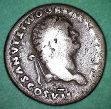 DOMIZIANO 51-96 d.C. Denario, Capra