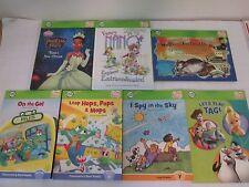 Lot 7 Tag Reader Books Fancy Nancy Princess Frog Phonics Walter Farting Dog VGUC