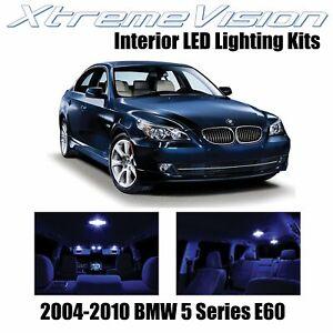 XtremeVision Interior LED for BMW 5 Series E60 2004-2010 (17 PCS) Blue