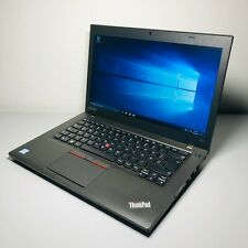 Lenovo Thinkpad T460 Laptop Notebook intel i5-6300U 2.50 8GB RAM 128GB SSD TOP