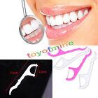 50pcs Cure Dents Soie Stick Fil 2 en 1 propre Dentaire Dental Floss Idéal