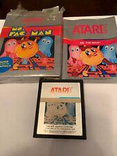 Atari 2600 Ms. Pac-Man Cartridge w/ Manual