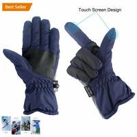 -30℃ Ski Waterproof Winter Ski Gloves Men Winter Snow Skiing Cycle Gloves WF