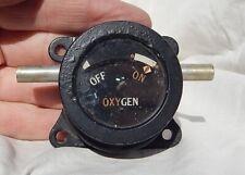 WW2 British RAF Lancaster Bomber Turret Gunner Oxygen Flow Gauge Instrument