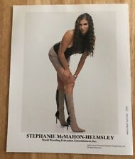 STEPHANIE McMAHON-HELMSLEY WRESTLING RARE 2001 OFFICIAL 8X10 PROMO PHOTO WWF WWE