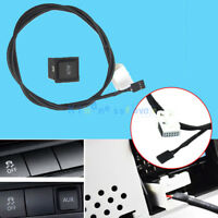 For VW RCD510 RNS510 Jetta MK5 Golf GTI AUX In Audio In Socket USB Switch Cable