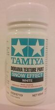 Tamiya Diorama texture paint 87119, Snow effect, White