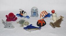 Bundle of 10 Different In my Pocket Ocean Animals with Flock Fur