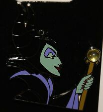 Disney Sleeping Beauty MALEFICENT Holding Septor W/Jewel Pin New on Card