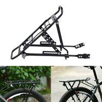 Aluminum Bicycle Mountain Bike Rear Rack Seat Mount Pannier Luggage Carrier USA
