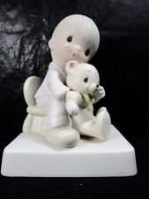 """Precious Moments """" Bear Ye One Another's Burdens """" Figurine Retired"""