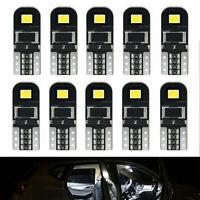 10*12V T10 194 168 W5W SMD LED Car HID White CANBUS Error Free Wedge Light Bulb