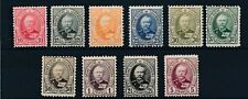 [348535] Luxembourg 1891-1893 good set of stamps fine/very fine Mh
