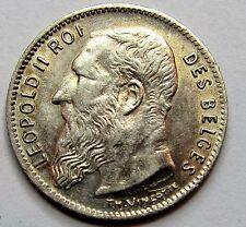 - BELGIQUE - Léopold II - 50 Cent - 1907 - QUALITE