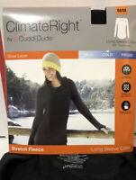 ClimateRight Long Sleeve Crew Stretch Fleece