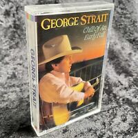George Strait Chill Of An Early Fall Cassette Tape MCA 1991 MCAC 10204