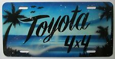 1990's TOYOTA 4 x 4 BOOSTER License Plate
