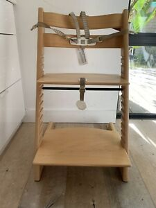 STOKKE Tripp Trapp High Chair Natural EUC